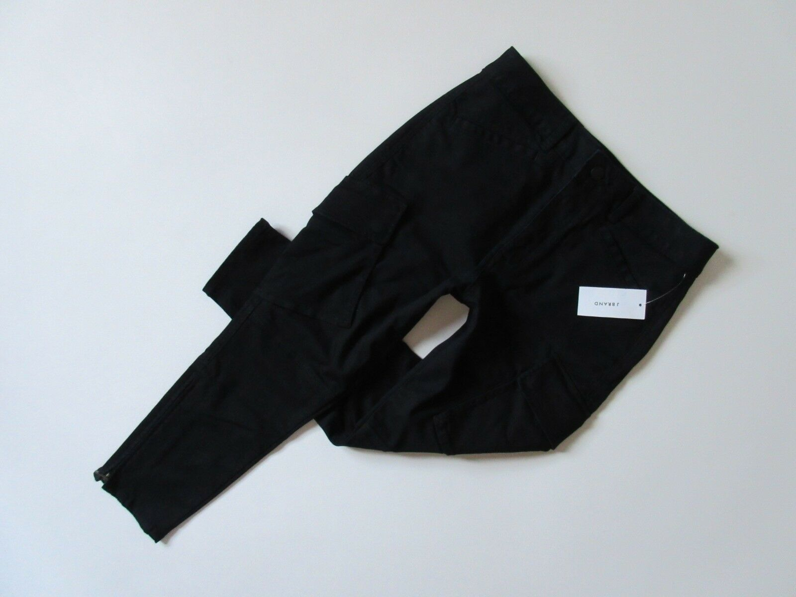 NWT J Brand Margho in Nouveau Dark Indigo Utility Crop Stretch Twill Pants 30