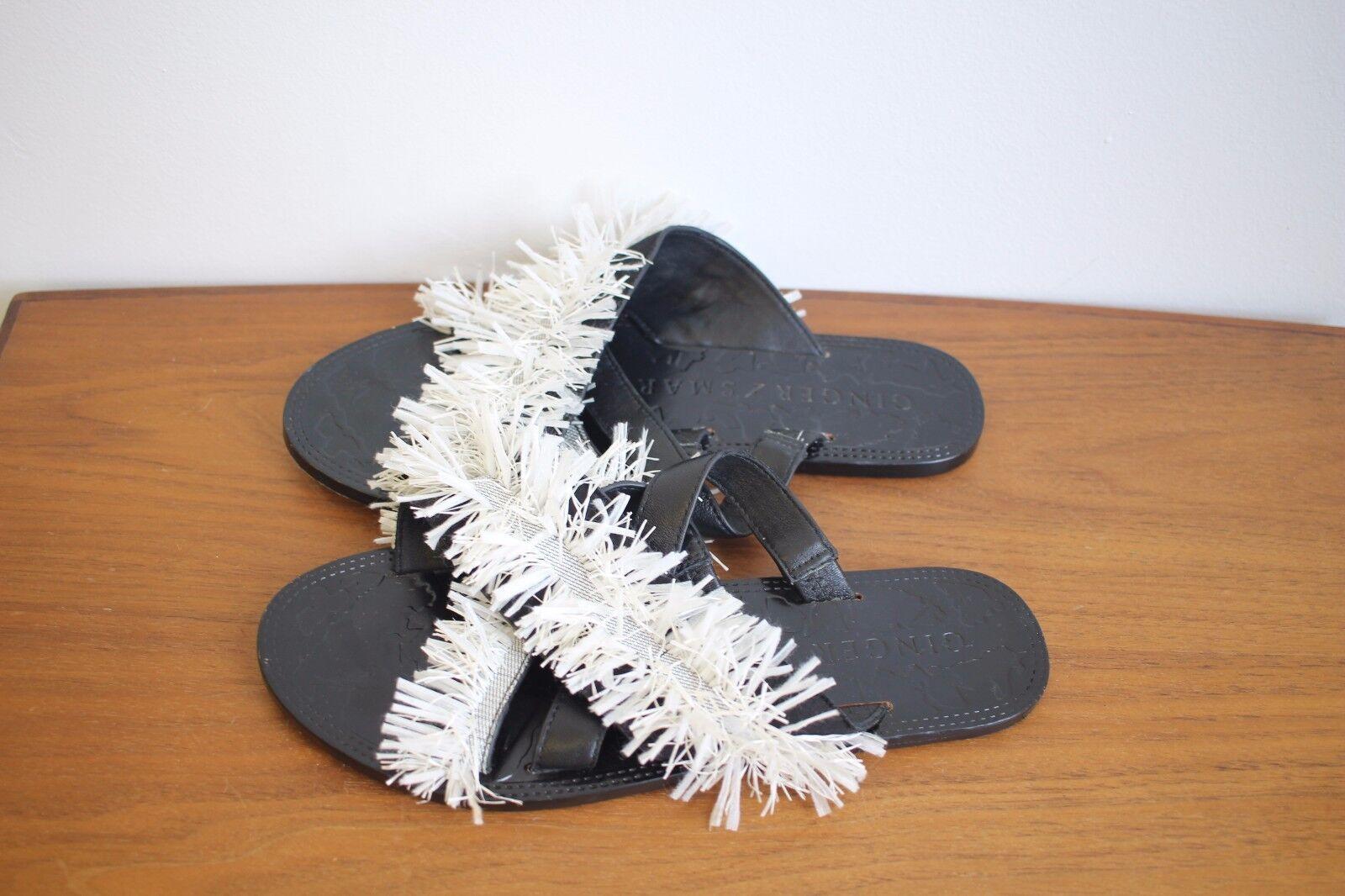 Ginger & and Sandal Smart: Tectonic Raffia Leather Slide Sandal and  $359 3437ff