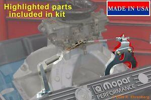for-Mopar-RB-Hi-Riser-Intake-Accelerator-Cable-Bracket-Mounting-Kit-Dodge-440