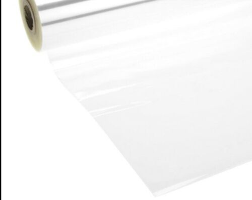 Clear cellophane wrap for hampers 80cm wide x 2 metres