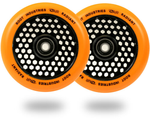 ROOT INDUSTRIES SCOOTER WHEELS HONEY CORE ORANGE 110mm and 120mm
