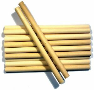 Wood-Craft-Dowels-6-034-Natural-3-8-034-10-Pkg-CW534