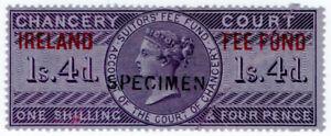 I-B-QV-Revenue-Ireland-Chancery-Fee-Fund-1-4d-specimen