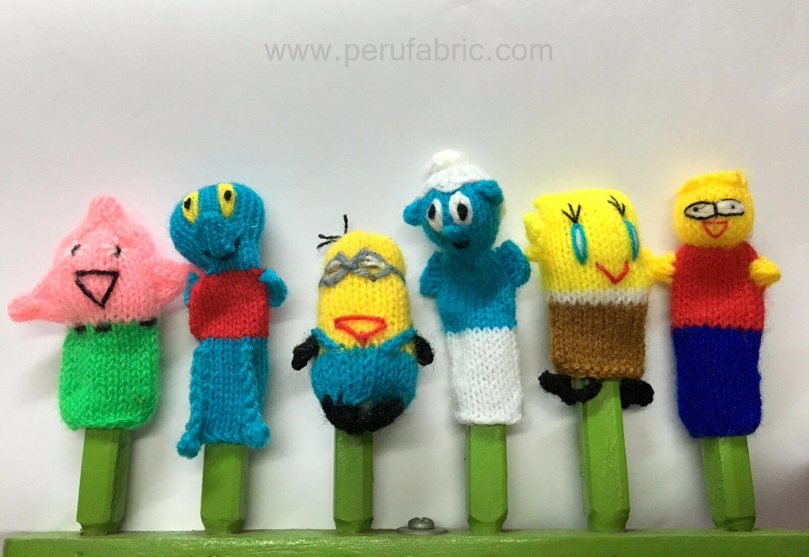 Wholesale 300 Handmade Finger Puppet, Animal and Characters FairyTale, Baby toy
