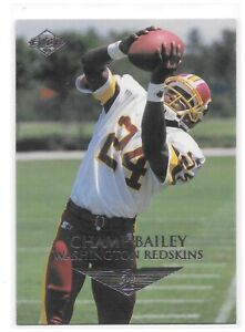 Champ Bailey Rookie Card 1999 Collector's Edge #200 Washington Redskins HOF RC
