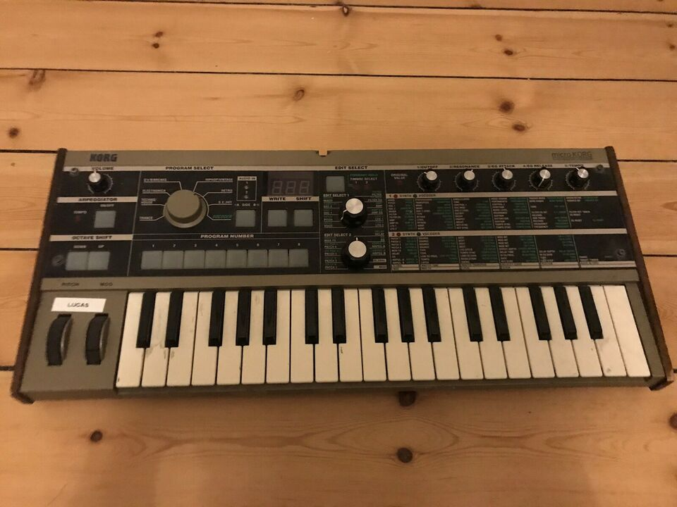 Synthesizer, Korg Microkorg