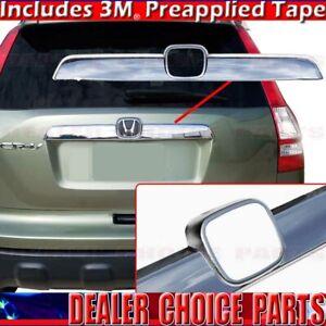 2007 2008 2009 2010 2011 Honda Crv Cr V Chrome Tailgate Handle Cover Molding Ebay