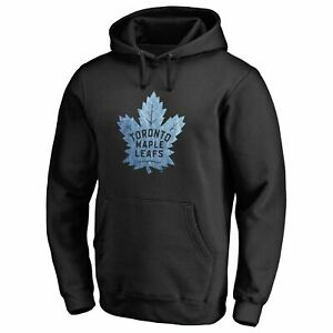 Fanatics-NHL-Men-039-s-Toronto-Maple-Leafs-Pond-Hockey-Black-Hoody