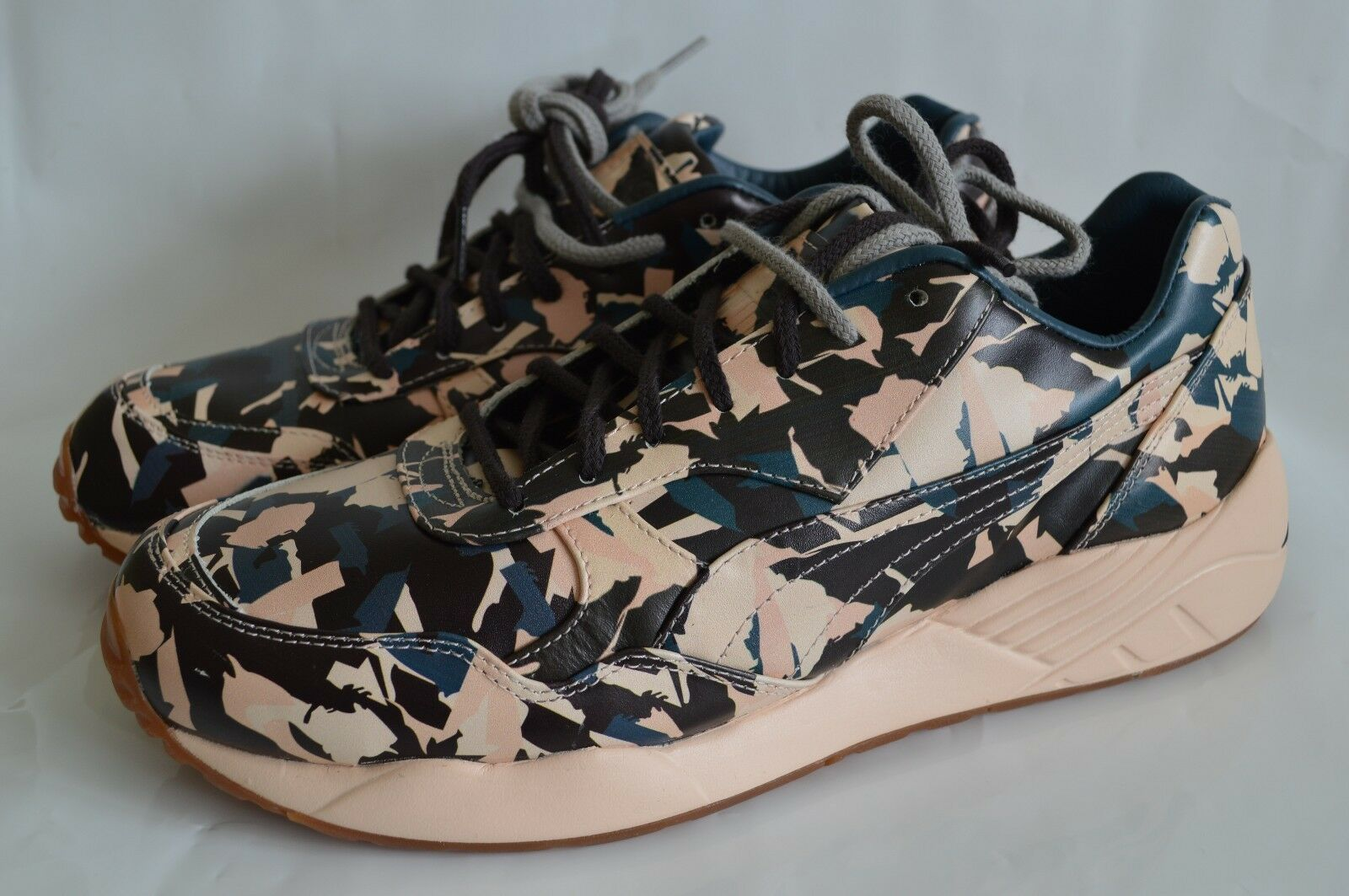 $135 New Mens Puma x BWGH XS-698 Camo Leather Fashion Sneaker Size 9 10 11 12