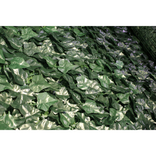 1x3M Artificial Faux Leaf Fence Hedge Screen Panels Garden Home Privacy Grass
