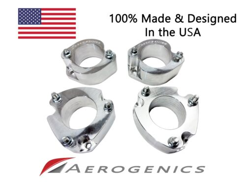"""SET 1/"""" Lift Spacers for 2003-11 Honda Element CNC /& Made in USA. 1/"""" F/& 1/"""" R"""