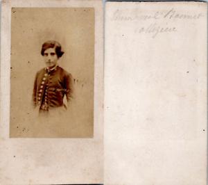 CDV-Jeune-garcon-collegien-nomme-Emmanuel-Bonnet-ou-Monnet-circa-1870-Vintage-C