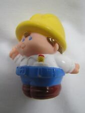 LITTLE TIKES Chunky CONSTRUCTION MAN WORKER Max for Little People Rare!