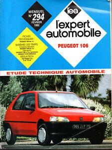 Inquiet Rta Revue Technique L'expert Automobile N° 294 Peugeot 106 Essence Avoir Une Longue Position Historique