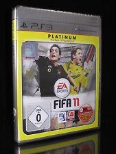 PS3 FIFA 11 (2011) - PLATINUM - Playstation 3 - FUSSBALL - SOCCER *** NEU ***