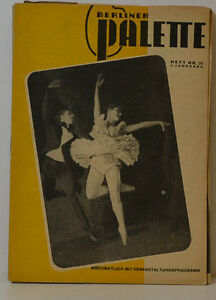 Berlin-Palette-revue-no-21-3-annee-Nostalgie-Livre-KB-404