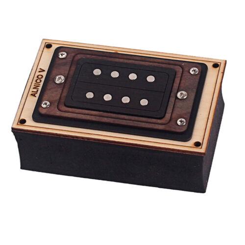 Elektronische Ukulele Humbucker Pickup mit Durable Cigar Box Gitarre