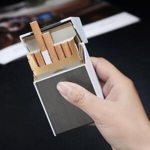 20-sticks-Automatic-Cigarette-Case-With-Inbuilt-Windproof-Lighter-Box-Holder