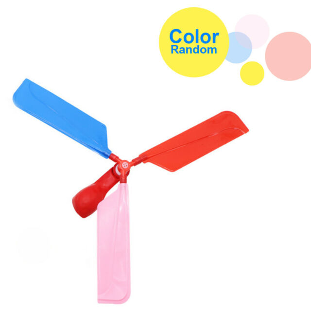 1X Balloon Helicopter Flying Educational Toys Kids Boys Girls Gift Funny