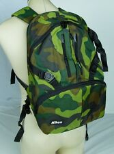 Genuine Nikon NEW DSLR Camera Backpack Army Digital Marine USA D4s D810A D5300