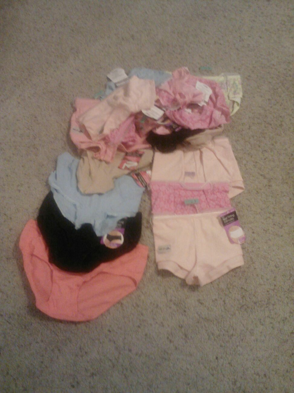 NWT mixed lot of 10 NEW ladies panties,  all Best Fitting  brand ,size 5