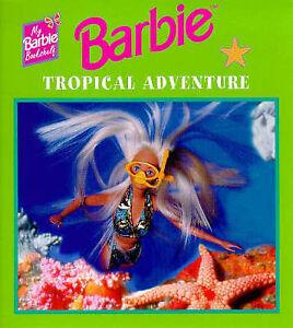 Image Is Loading Barbie Mini Book Pack X 8 Tropical Adventure
