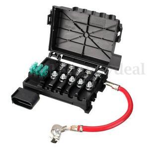 fuse box battery terminal for vw jetta golf mk4 beetle 2 0 1 9tdi rh ebay co uk 2001 Jetta Fuse List 2012 VW Jetta Fuse Box Diagram