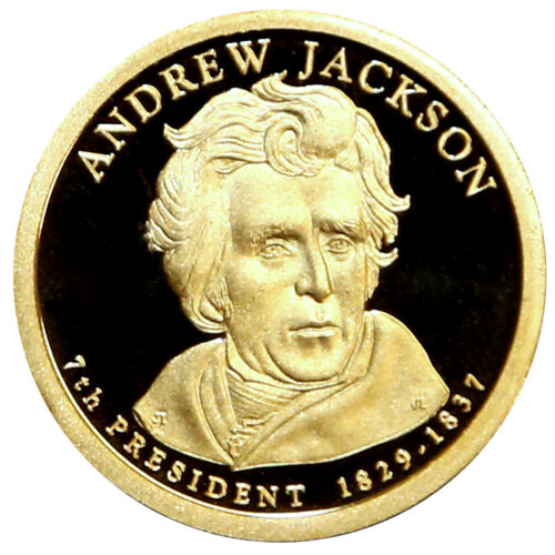 2008 S Andrew Jackson Presidential Proof Dollar Roll 20 US Coins