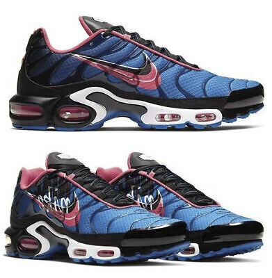 New Nike Air Max Plus Tn Classic Men S Athletic Sneakers Blue Pink