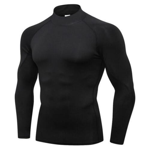 Details about  /Men Compression Base Layer Workout Fitness Activewear Sport T-Shirt Top//Leggings