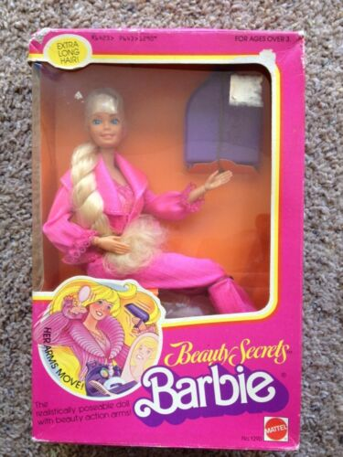 1979 BEAUTY SECRETS Barbie Doll #1290 NIB