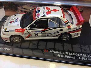 1-43-MITSUBISHI-LANCER-RS-EVO-III-RALLYE-SAN-MARINO-1996-BEDINI-IXO-RALLY-CAR-6