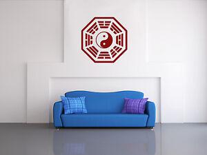 Bagua-Yin-Yang-pegatinas-de-pared-de-azulejos-wall-Calcomania-pared-Pegatina