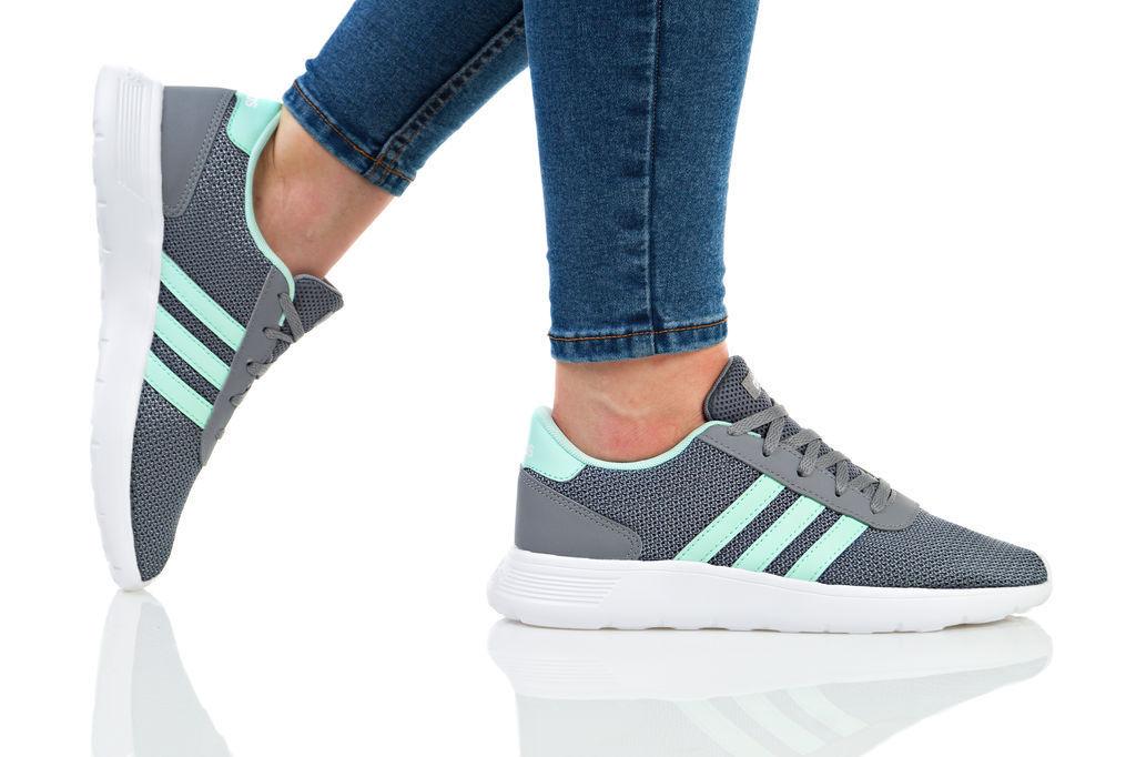Adidas Lite Racer 2018 Comme neuf Classique Femmes Baskets Nouveau Baskets Chaussures