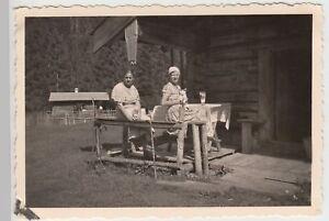 (f18417) Orig. Photo Chiemgau, Femmes A.d. Schwarzachenalm 1935-m 1935 Fr-fr Afficher Le Titre D'origine Distinctive Pour Ses PropriéTéS Traditionnelles