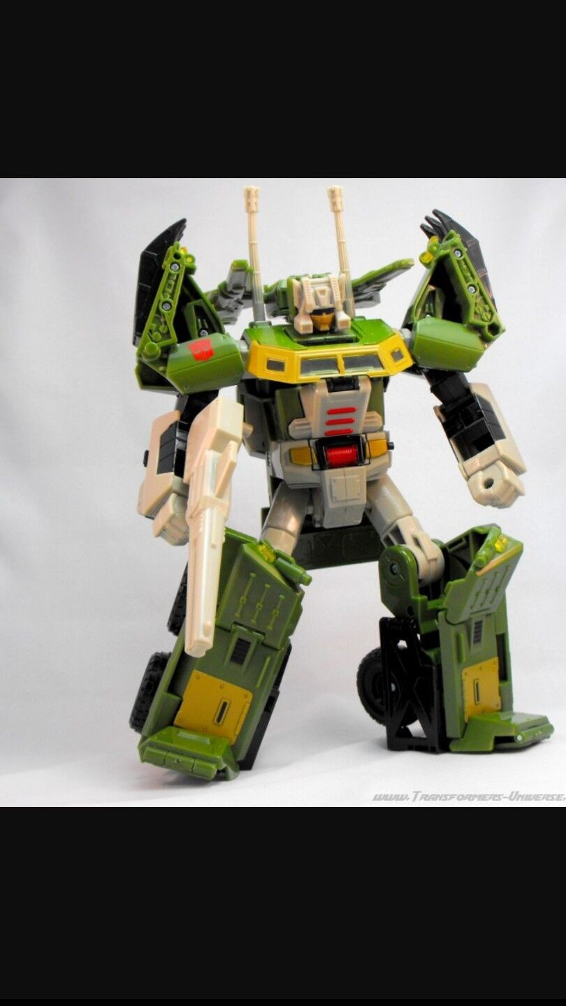 Transformers universe ultra class Hardhead + Stronghold kit