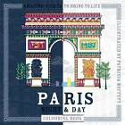 Paris Night and Day Colouring Book by Patricia Moffett (Paperback, 2016)