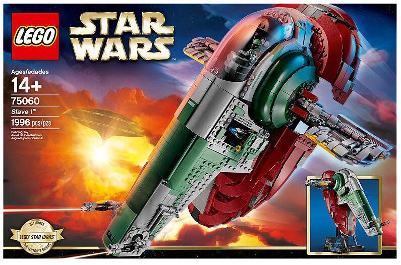 LEGO 75060 Star Wars Slave  I - Retirouge - nouveau in Sealed Box  service honnête