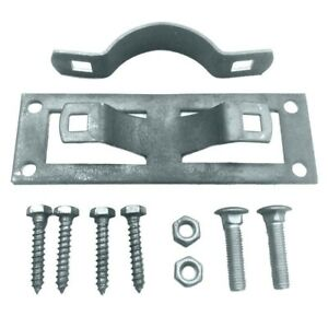 Steel To Wood Fence Post Bracket Galvanized Steel (50-piece Per Box)