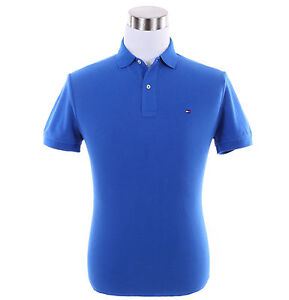 Tommy-Hilfiger-Men-Short-Sleeve-Solid-Rugby-Custom-Fit-Pique-Polo-Shirt-0-Ship