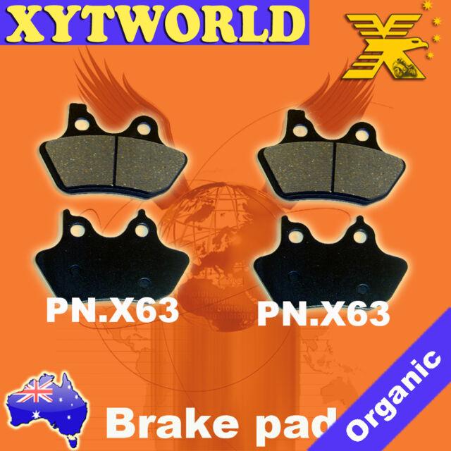 Harley Davidson XL883 XL 883 Sportster Standard Brake Pads FRONT REAR 2000-2003