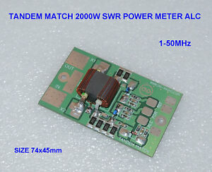 Details about TANDEM MATCH 2kW 2000W SWR POWER METER amplifier LDMOS MOSFET  BLF188XR VRF2933