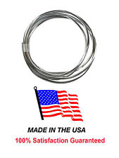 30 FT Chrome Door Edge Trim Scratch Guard Protector Cover 3M Made in the U.S.A.