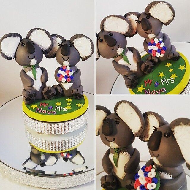 Consegna Consegna Consegna urgente personalizzato Novità WEDDING CAKE TOPPER SPOSI CLAY c0e7b8
