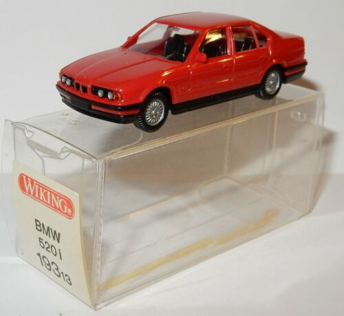 MICRO WIKING HO 1//87 BMW 520 I ROUGE in box