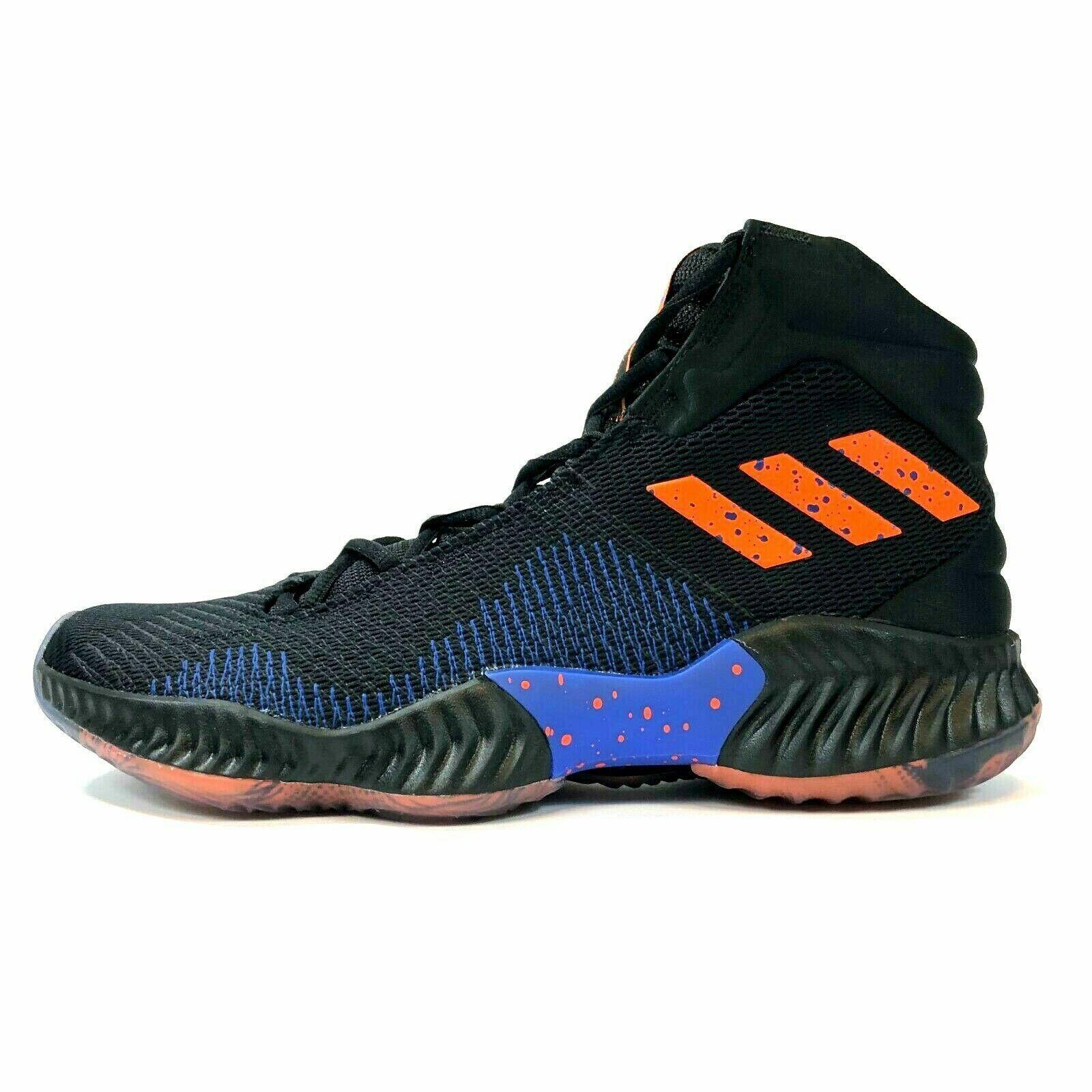 Adidas Pro Bounce 2018 PE Porzingis Knicks Negro B41990 para hombres talla 9 10  130