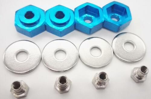 Alloy Wheel Hex Converter 12 mm to 17 mm hexagon joint N10237 For Rc car crawler