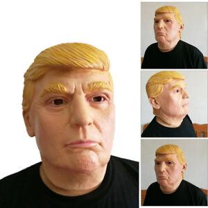 Halloween-Realistic-Latex-Donald-Trump-Costume-Mask-Masquerade-Carnival-Cosplay