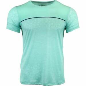 ASICS-Gel-Cool-Short-Sleeve-Top-Athletic-Tops-Green-Mens-Size-S