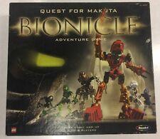 2001 LEGO BIONICLE ADVENTURE BOARD GAME COMPLETE *QUEST FOR THE MAKUTA*